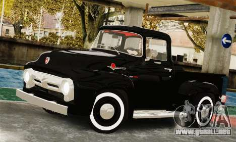 Ford F100 Hot Rod Truck 426 Hemi para GTA 4 visión correcta