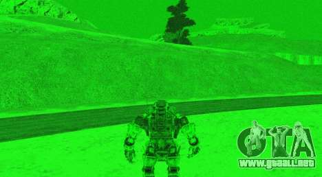 TitanFall Atlas para GTA San Andreas octavo de pantalla