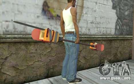 Paddlesaw para GTA San Andreas tercera pantalla