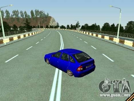VAZ 2172 para GTA San Andreas vista posterior izquierda