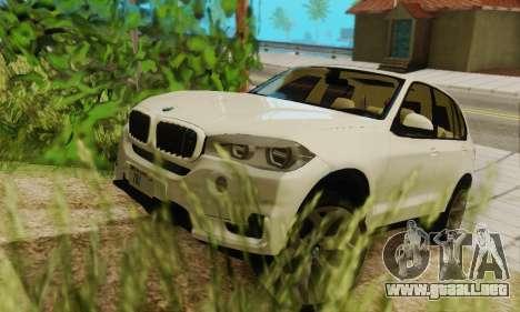 BMW X5 (F15) 2014 para vista lateral GTA San Andreas