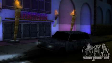 VAZ 2104 En camuflaje para la visión correcta GTA San Andreas