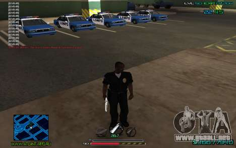 C-HUD by CONVERSION para GTA San Andreas