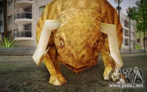 Sirian Werebull para GTA San Andreas tercera pantalla