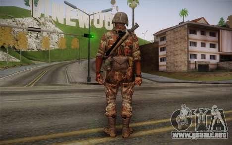 U.S. Soldier v3 para GTA San Andreas segunda pantalla
