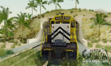 GTA V Trem 2 para la visión correcta GTA San Andreas