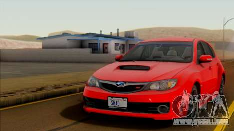 SA Beautiful Realistic Graphics 1.7 Final para GTA San Andreas octavo de pantalla