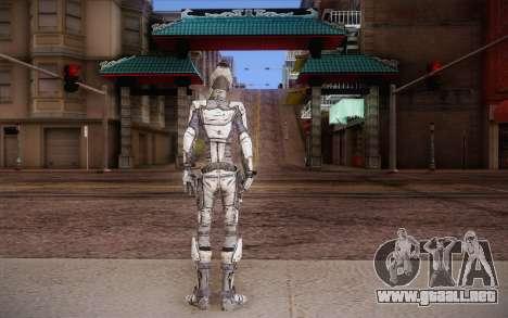 Zer0 из Borderlands 2 para GTA San Andreas segunda pantalla