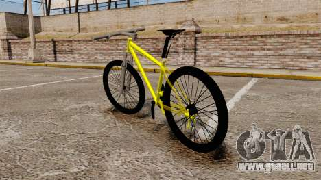 GTA V Mountain Bike para GTA 4 Vista posterior izquierda