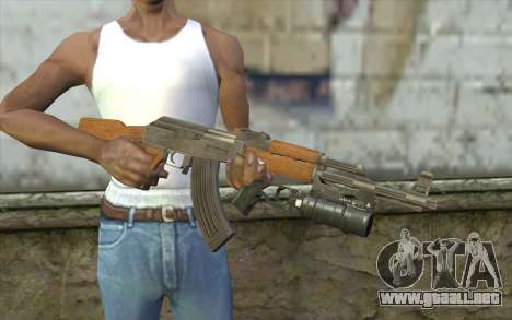 AK47 with GP-25 para GTA San Andreas tercera pantalla