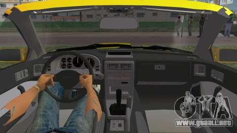Mazda Savanna RX-7 III (FC3S) para GTA Vice City visión correcta