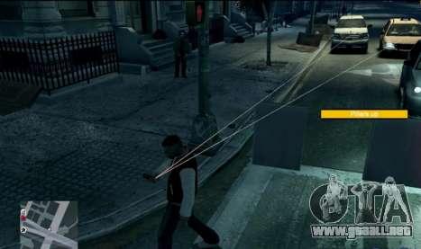Watch Dogs Style MOD para GTA 4 tercera pantalla