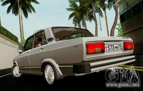 VAZ-2105 para GTA San Andreas left