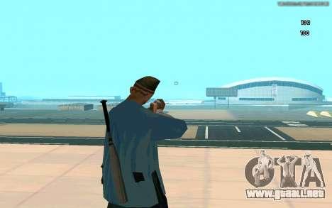 Visión eterna para GTA San Andreas tercera pantalla