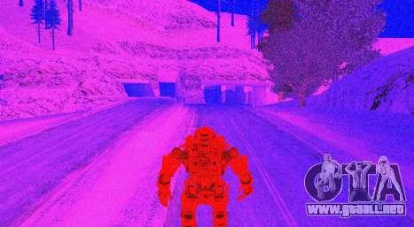 TitanFall Atlas para GTA San Andreas novena de pantalla