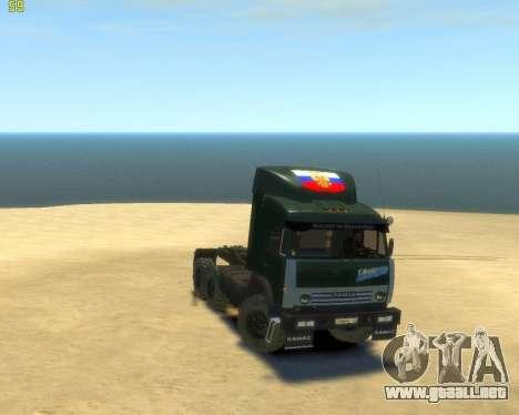 KamAZ Tractor 4410 para GTA 4