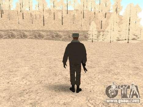 Un capitán de la policía para GTA San Andreas tercera pantalla