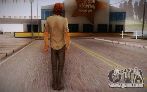 Bigby Wolf para GTA San Andreas segunda pantalla