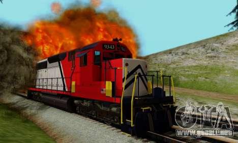 GTA V Trem para visión interna GTA San Andreas