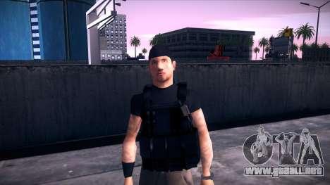 Special Weapons and Tactics Officer Version 4.0 para GTA San Andreas novena de pantalla