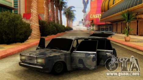 VAZ 2104 En camuflaje para GTA San Andreas