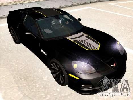 Chevrolet Corvette Grand Sport para el motor de GTA San Andreas