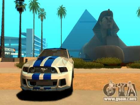 ENBSeries Realistic Beta v2.0 para GTA San Andreas segunda pantalla