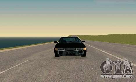 VAZ 21123 TURBO-Serpiente v2 para GTA San Andreas vista posterior izquierda