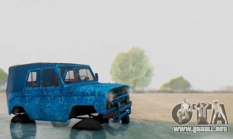 UAZ 469 Blue Star para GTA San Andreas