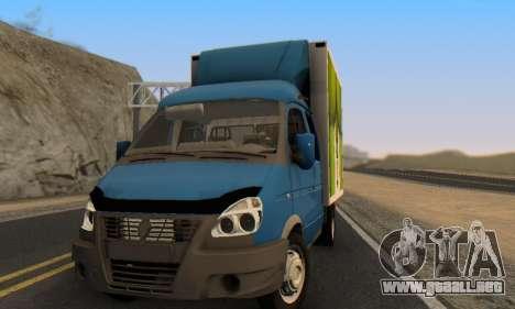 33023 Gacela para GTA San Andreas vista hacia atrás