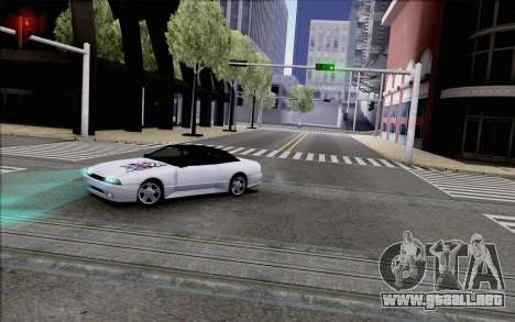 Elegy Kiss the Wall para GTA San Andreas vista posterior izquierda