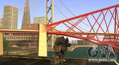 TitanFall Atlas para GTA San Andreas tercera pantalla