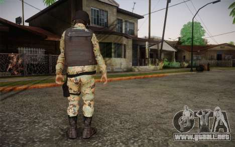 Desmadroso v6 para GTA San Andreas segunda pantalla