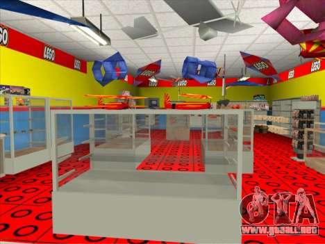 La tienda de LEGO para GTA San Andreas