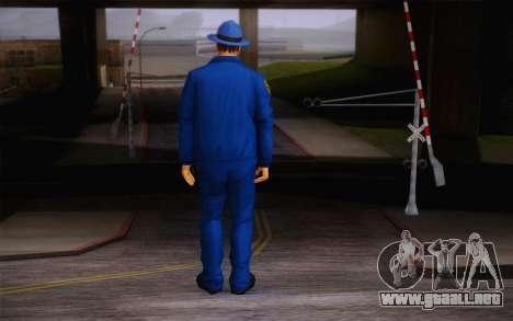 New Sheriff para GTA San Andreas segunda pantalla