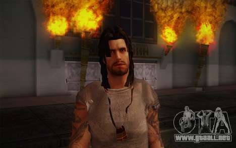 Jake Conway из Ride to Hell: Retribution para GTA San Andreas tercera pantalla