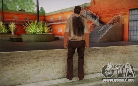 Maddog Piel из El Raid para GTA San Andreas segunda pantalla