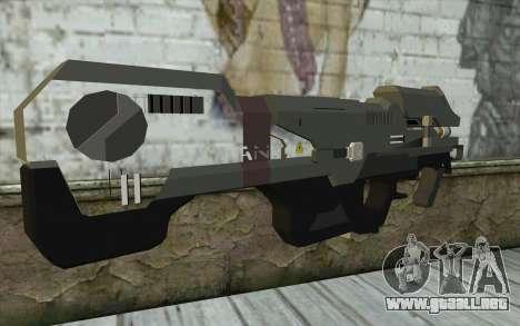 Halo Spartan Laser para GTA San Andreas segunda pantalla