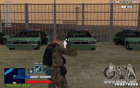 C-HUD Universal para GTA San Andreas