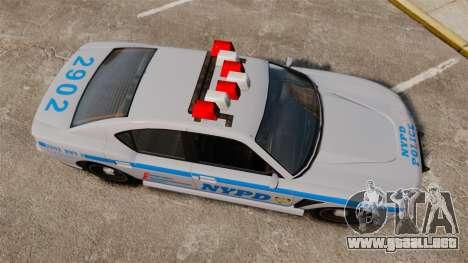 GTA V Bravado Buffalo NYPD para GTA 4 visión correcta