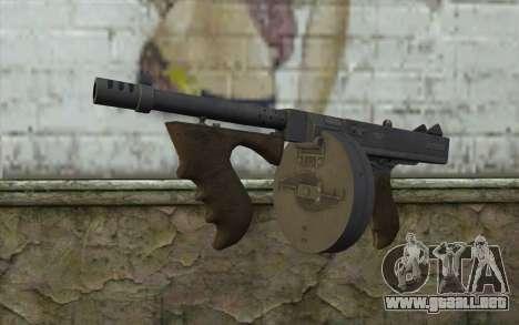 Máquina Thompson (Deadfall Adventures) para GTA San Andreas