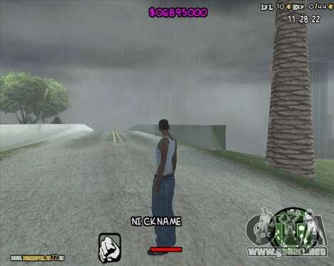 HUD by Romka MC para GTA San Andreas