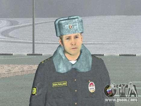 Un capitán de la policía para GTA San Andreas