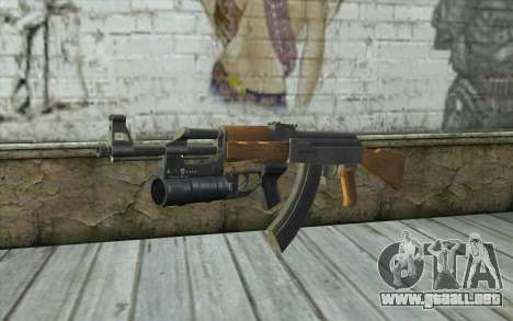 AK47 with GP-25 para GTA San Andreas