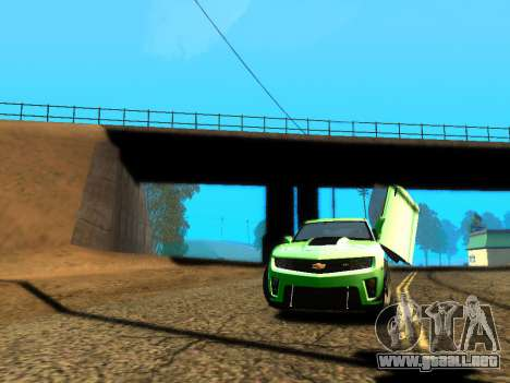 ENBSeries Realistic Beta v2.0 para GTA San Andreas sucesivamente de pantalla