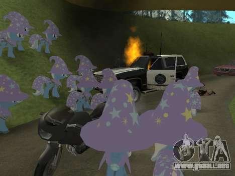 Trixie para GTA San Andreas sexta pantalla