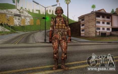 U.S. Soldier v3 para GTA San Andreas