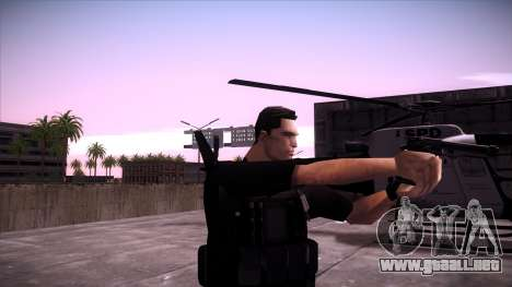 Special Weapons and Tactics Officer Version 4.0 para GTA San Andreas tercera pantalla