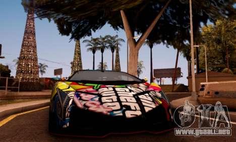 Lamborghini LP750-4 2013 Veneno Stikers Editions para GTA San Andreas left