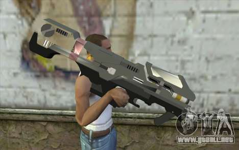 Halo Spartan Laser para GTA San Andreas tercera pantalla